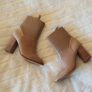 NWOB ALDO Catheryn Patchwork Leather Booties